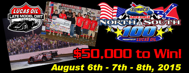 33rd Annual Sunoco Race Fuels North/South 100 presented by Lucas Oil
